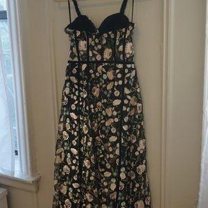 aafcad95e1b1 Topshop Dresses | Floral Corset Midi Dress | Poshmark